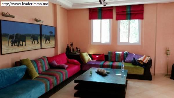 Skhirat Duplex meublé en location