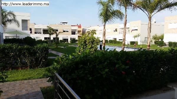 Rabat Harhoura  Triplex à louer