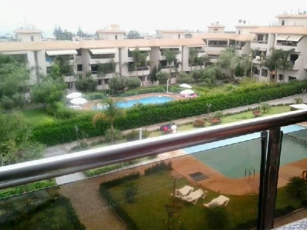 Rabat Harhoura  Location appartement meublé