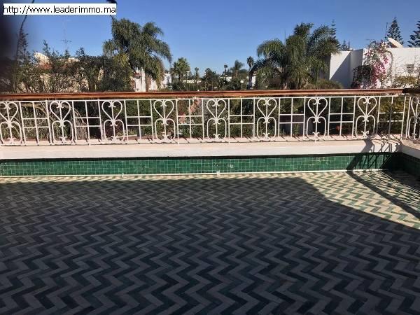 Rabat Hay Riad Villa à louer 700 m²