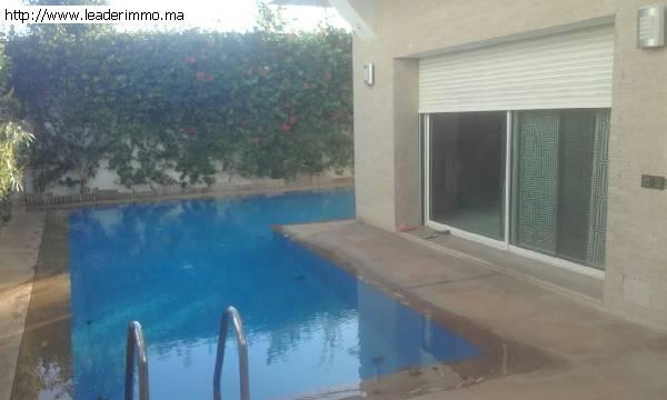 Rabat Hay Riad  Villa à vendre 450 m²
