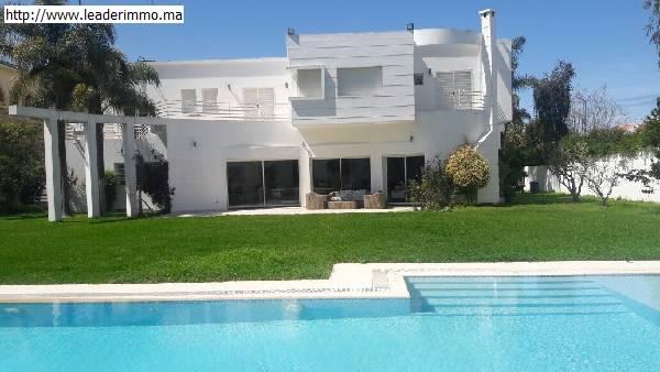 Location Villa meublée de 3200m²