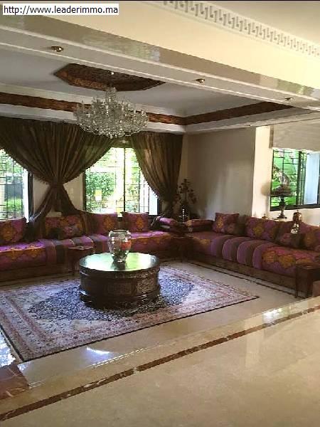 Rabat; Hay Riad villa neuve à vendre.