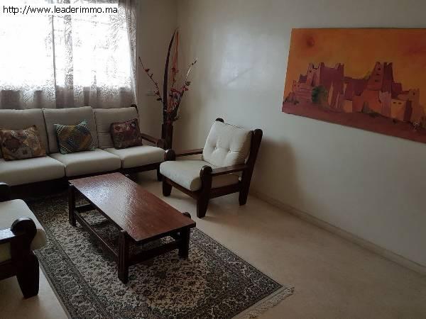 Rabat Agdal  appartement meublé 190 m²