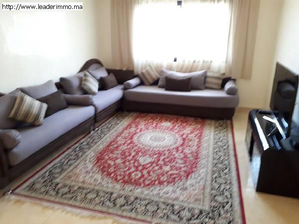Rabat Agdal location appartement meublé