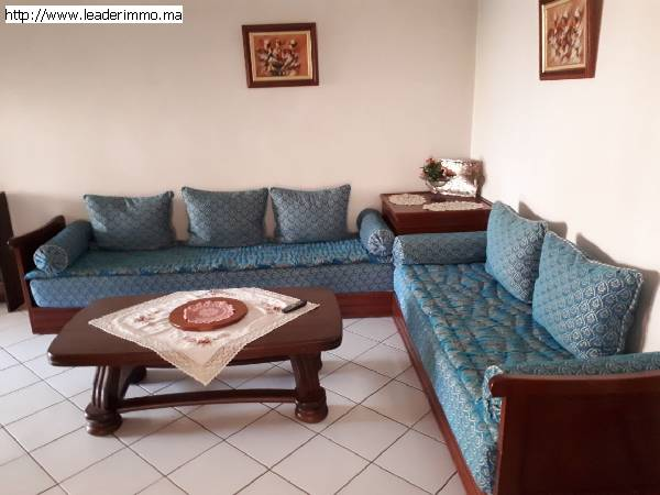 Rabat Agdal Appartement meublé 70 m²