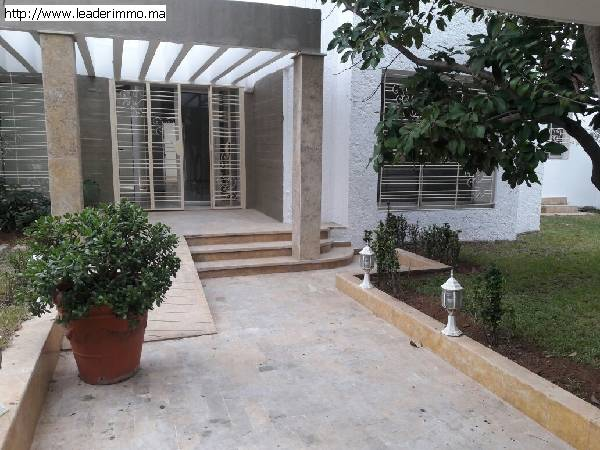 Rabat Hassan Villa usage bureau 1000 m²