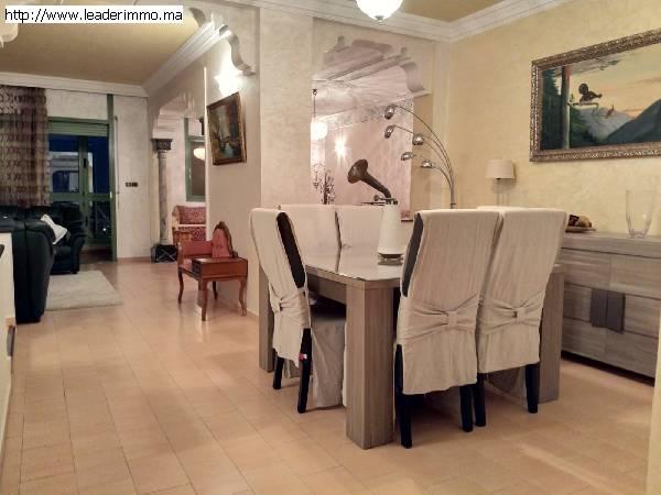 Rabat haut agdal. Appartement meublé 180 m²