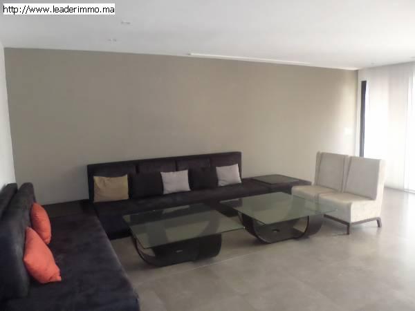 Rabat haut Agdal Appartement meublé à louer 156 m²