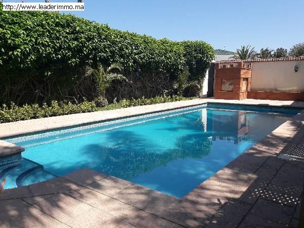 Rabat Hay Riad  villa à louer 1200 m²