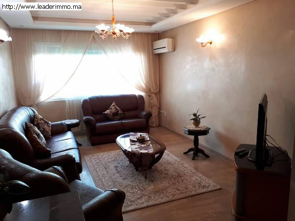 Rabat haut Agdal appartement meublé 96 m²
