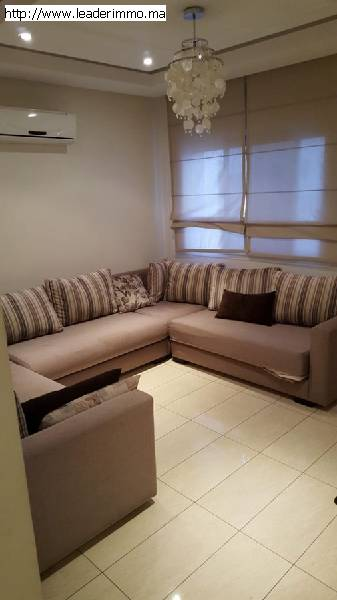 Rabat Agdal appartement meublé 85 m²