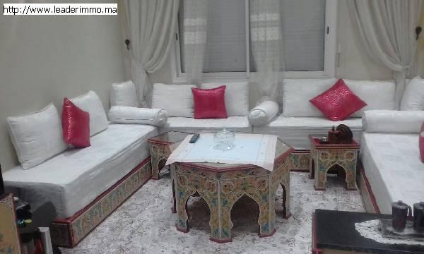 Rabat Hassan Apprtement meublé à louer.