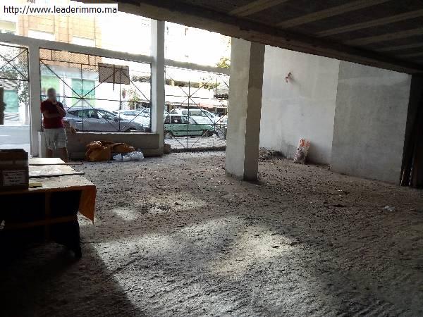Rabat hassan: vente local commerçial de 206m².