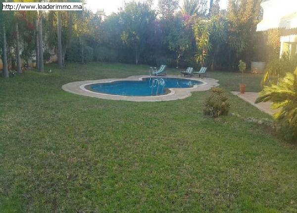 Rabat Souissi Villa 2000 m² à louer