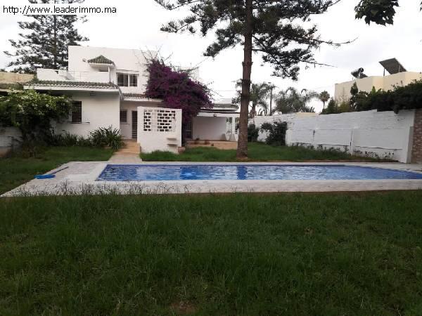 Rabat Bir Kacem Villa à louer de 1000 m²