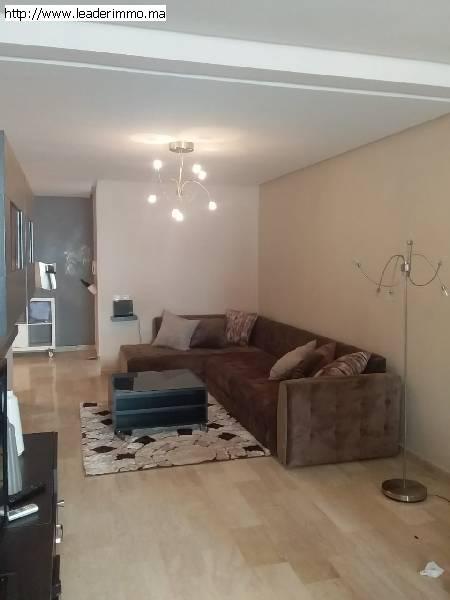 Rabat Agdal location appartement meublé 100 m²