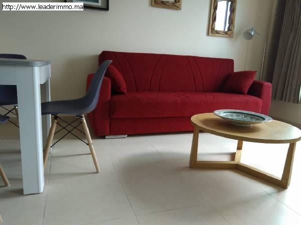 Rabat Agdal appartement meublé 60 m²