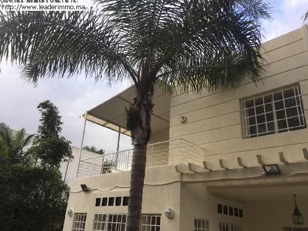 Rabat Chaumière villa en location 1000 m²