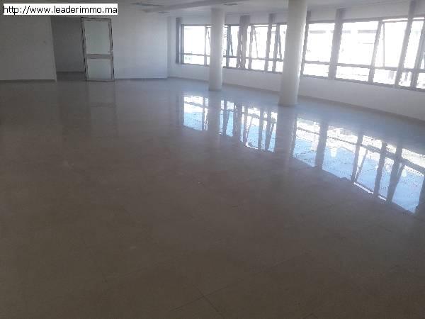 Rabat Haut Agdal Open space 250 m²