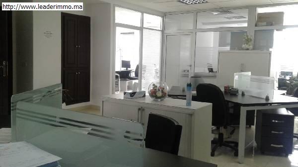 Plateau bureau en location à Rabat Agdal.