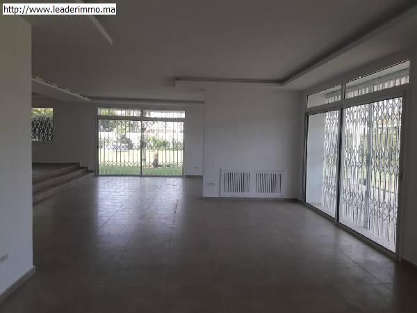 Rabat Souissi villa bureau 2000m²