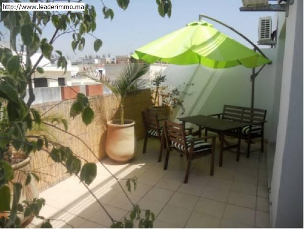 Rabat Agdal appartement meublé en location