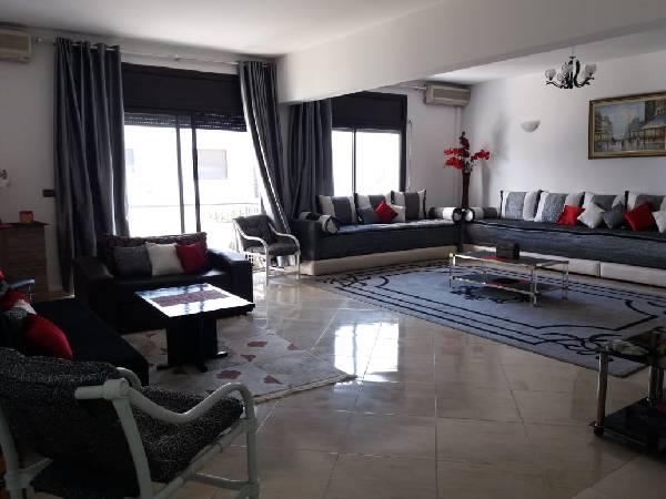 Location appartement meublé Haut Agdal.