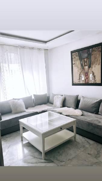 Appartement meublé à louer Hay riad Rabat.