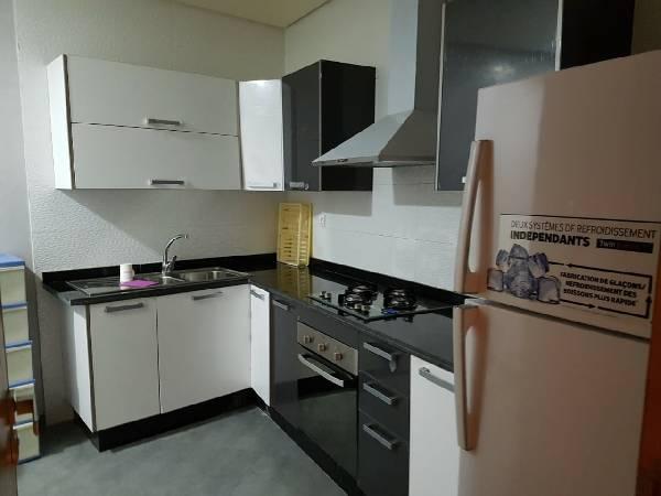 Appartement meublé à l'Oasis Casablanca.