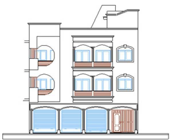 Maison R+2 à vendre à El manzeh Rabat.