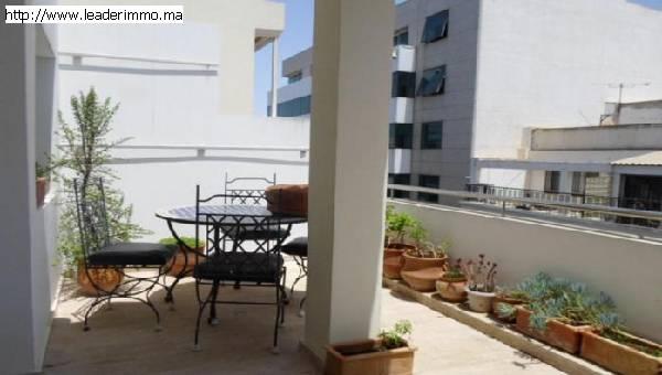 Rabat Hassan  Appartement meublé 100 m²